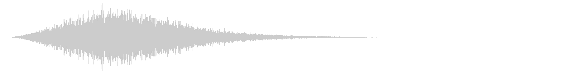 Sound of chanting or activating magic # 6's unreproduced waveform