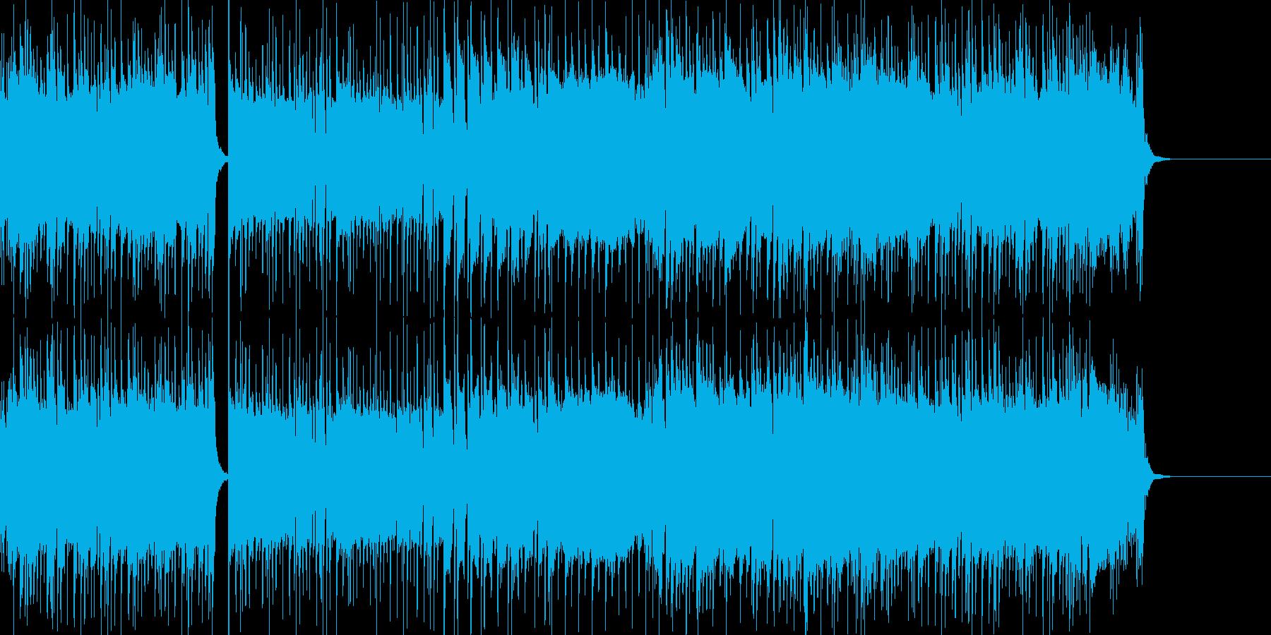 スイーツをイメージしたかわいいBGMの再生済みの波形