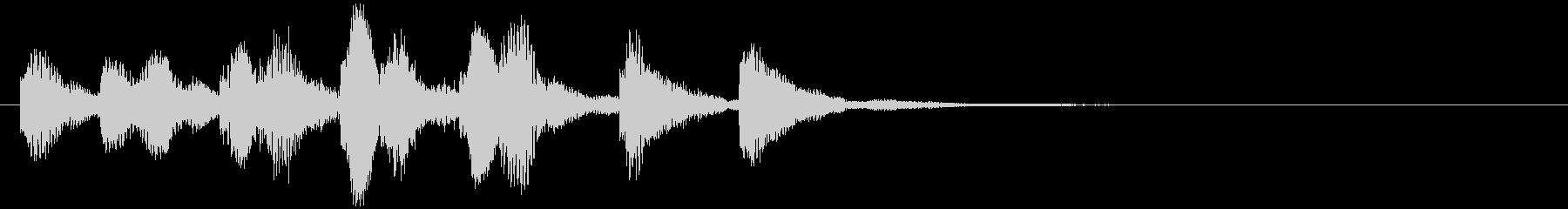 のほほんジングル033_コミカル-3の未再生の波形
