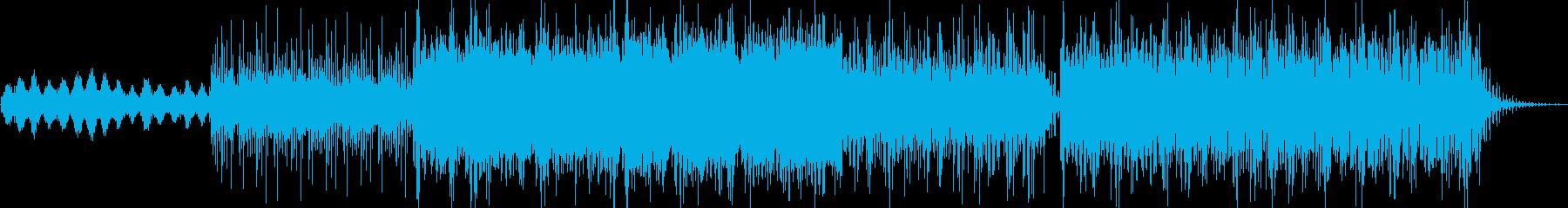 幻想的エレクトロニカの再生済みの波形