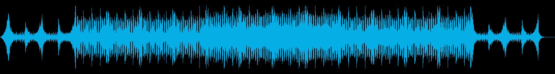 緊張感漂うハードで壮大なサスペンス風劇伴の再生済みの波形
