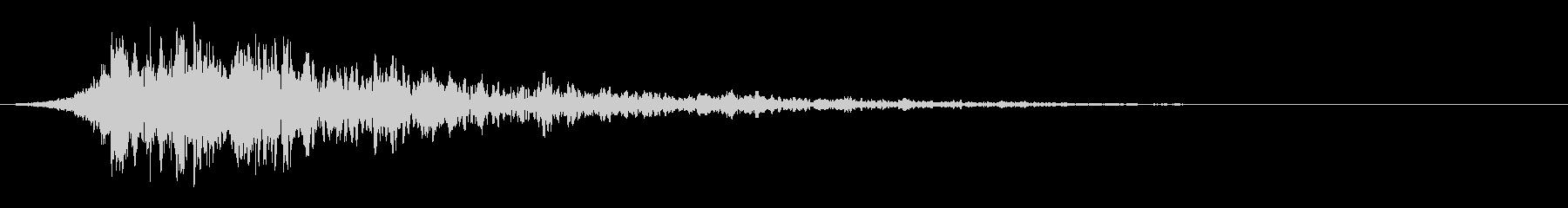 シュードーン-44-2(インパクト音)の未再生の波形