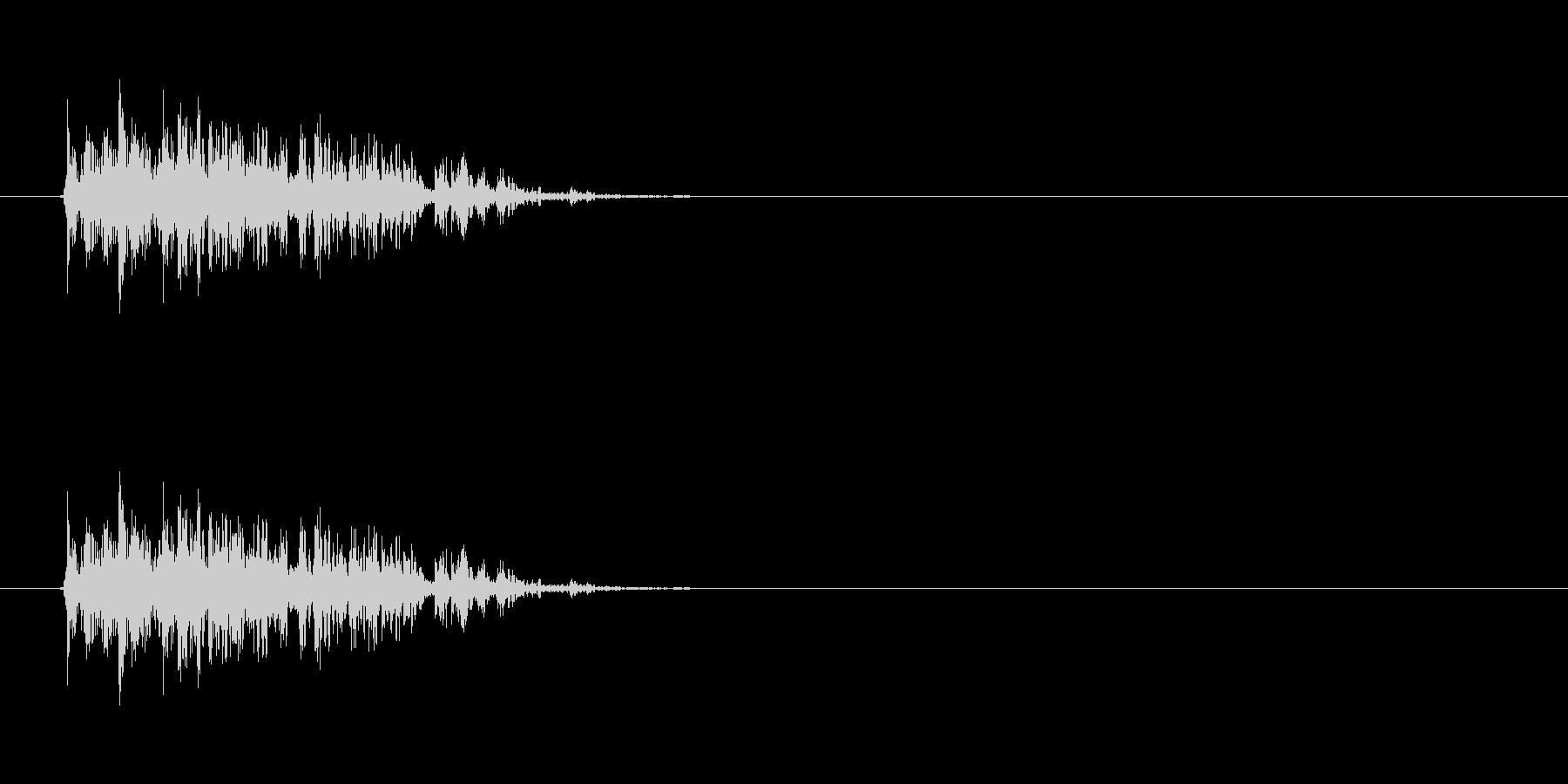 【ブーブークッション01-1】の未再生の波形