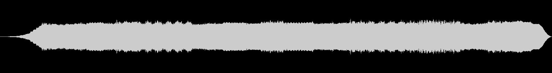 精神周波数の未再生の波形