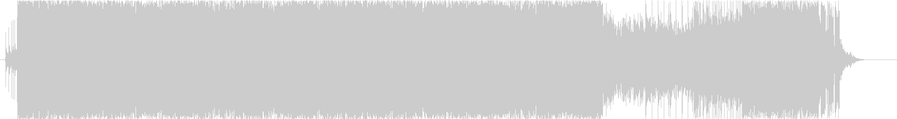 洋楽 疾走系 デスメタル ラスボスの未再生の波形