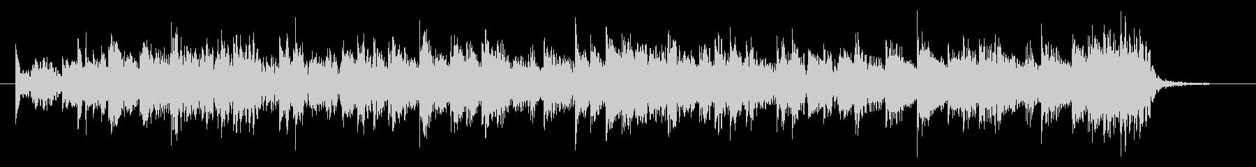 シンセを多用したピコピコ系エレクトロの未再生の波形