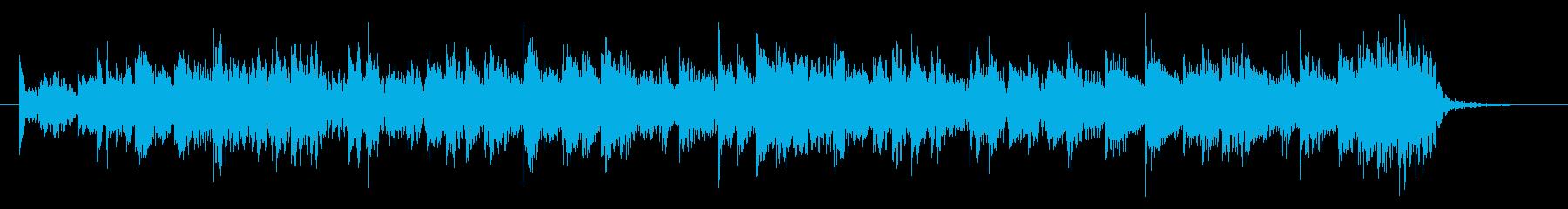シンセを多用したピコピコ系エレクトロの再生済みの波形