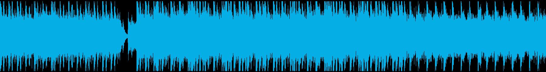 RPGの戦闘曲2(ループ)の再生済みの波形