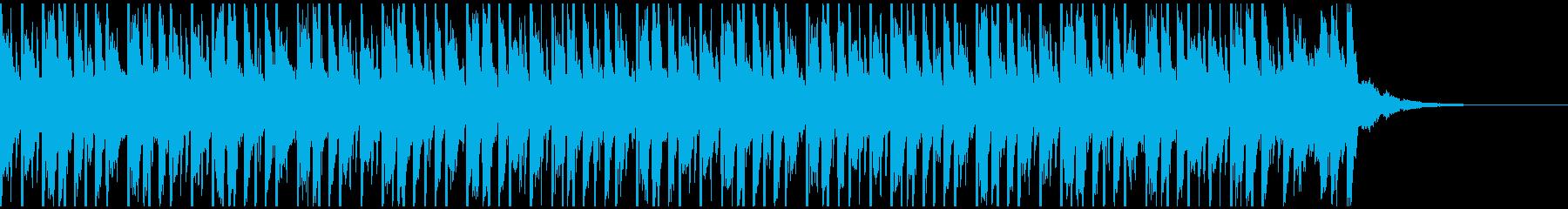 お祭りで(30秒)の再生済みの波形
