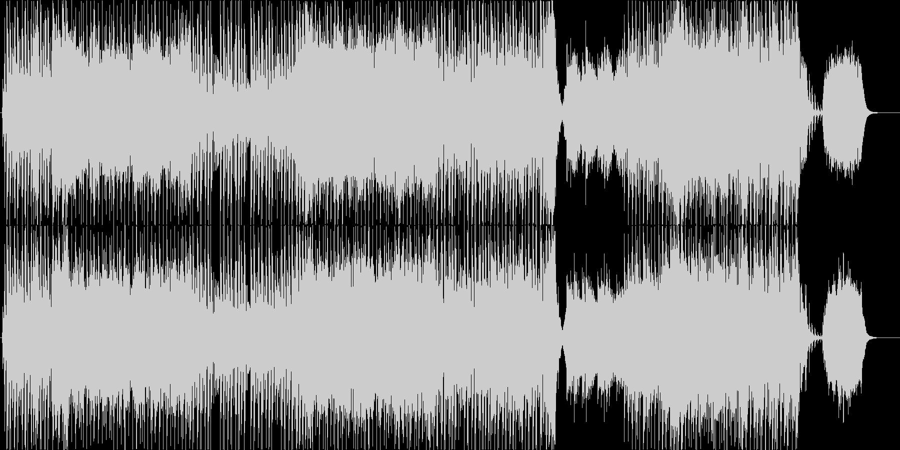 爽やかなギターポップ-Bの未再生の波形