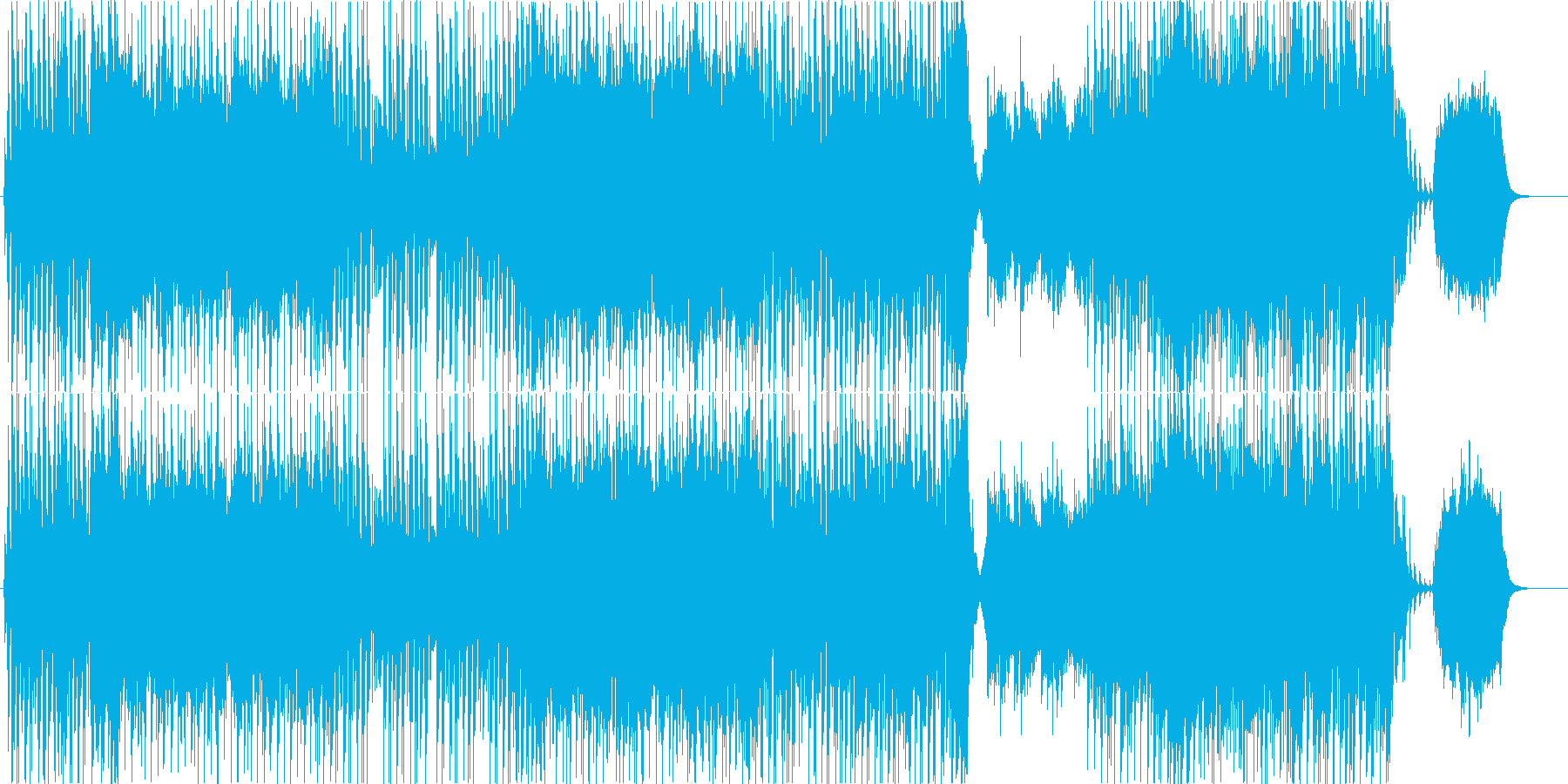 爽やかなギターポップ-Bの再生済みの波形