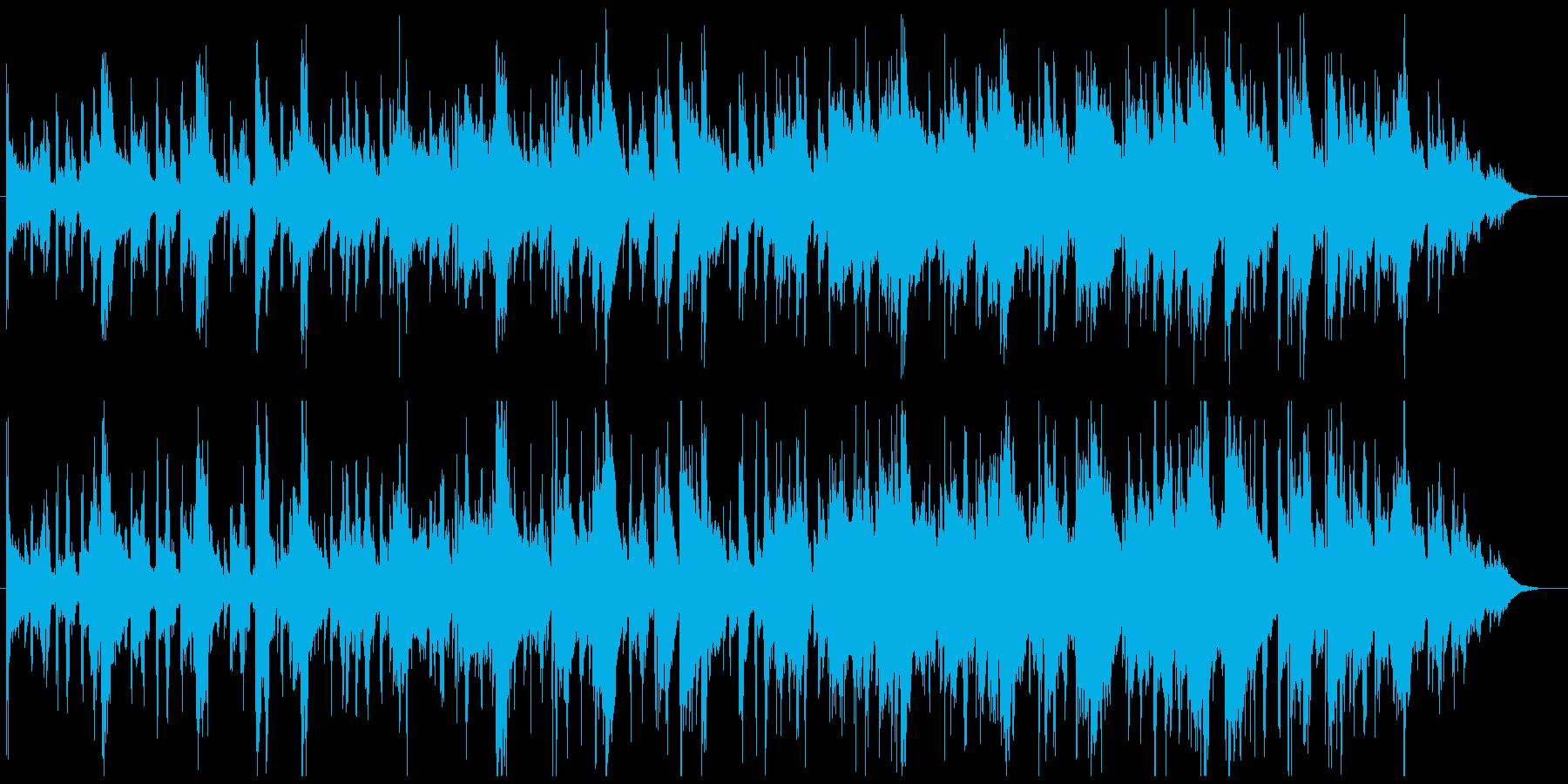 歪・不気味な空気感のアンビエントの再生済みの波形
