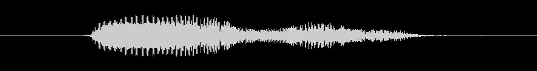 Aa's unreproduced waveform