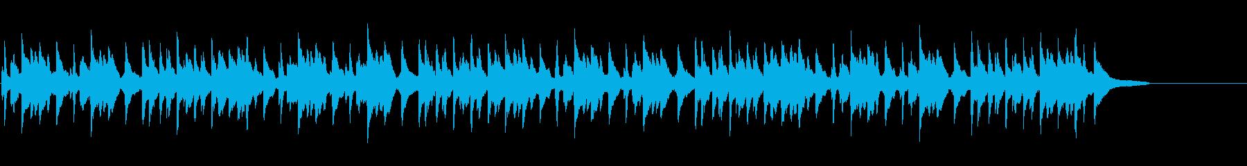 民謡(シューマン作曲)の再生済みの波形