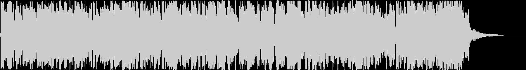 ほのぼのオシャレで前向きなヒップホップの未再生の波形