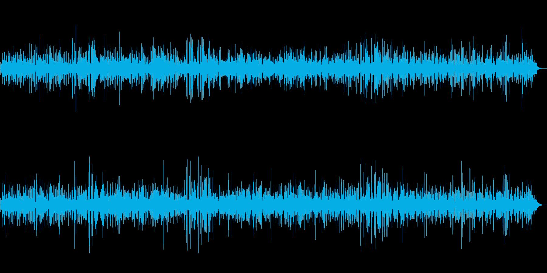 JAZZ|爽やかな朝に聴くカフェBGMの再生済みの波形