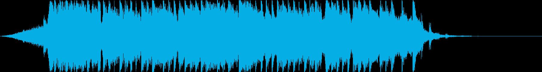 スポーツ番組ハイライト風J-Fusionの再生済みの波形