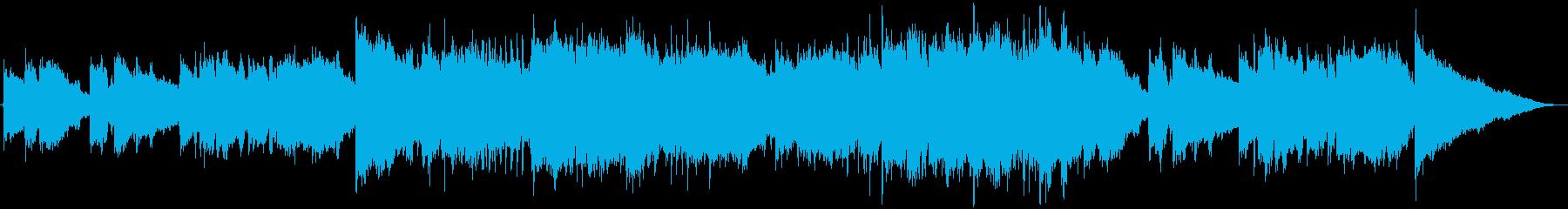 CM・優しいフューチャーポップの再生済みの波形