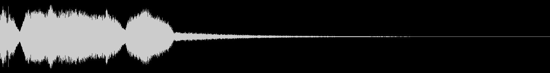 DJFX ヒットチャート発表前SE 16の未再生の波形