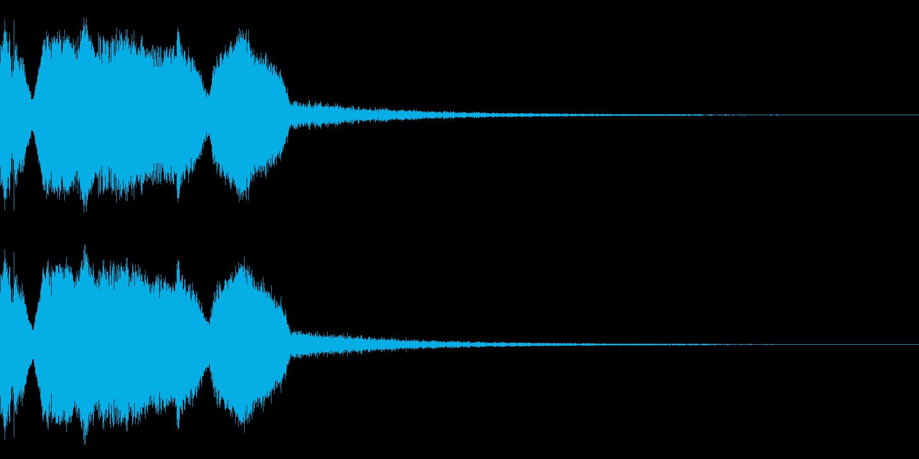 DJFX ヒットチャート発表前SE 16の再生済みの波形