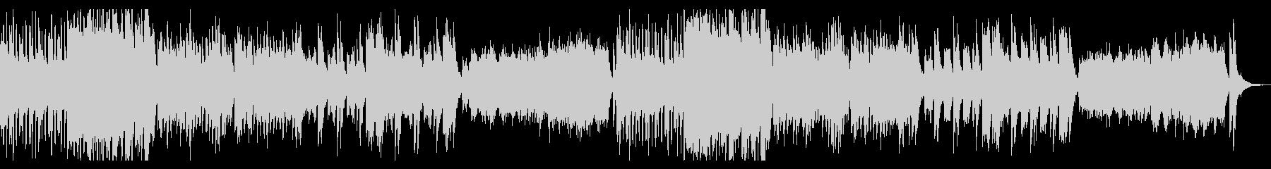 ゆったりシンプルなハロウィンオーケストラの未再生の波形