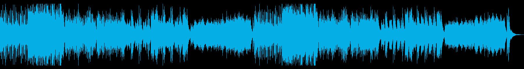ゆったりシンプルなハロウィンオーケストラの再生済みの波形