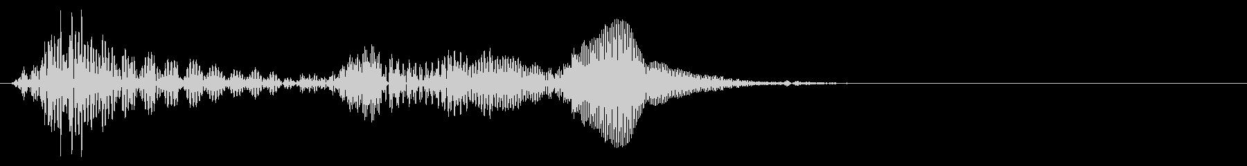 水滴音を加工して制作したカーソル音_01の未再生の波形