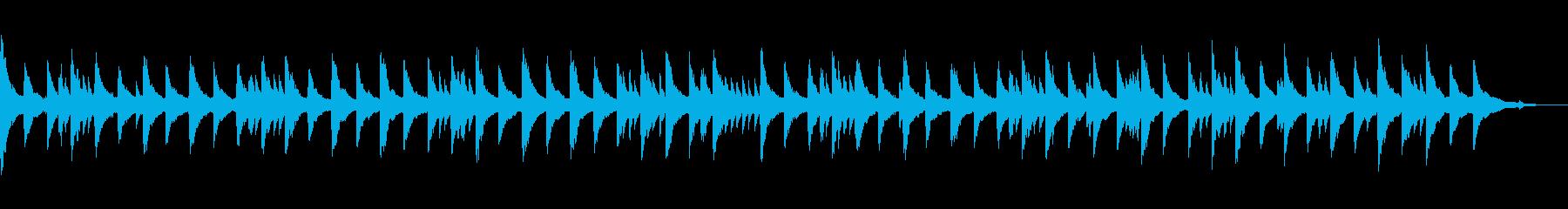 寂しげな雰囲気のクラシック風チェンバロの再生済みの波形