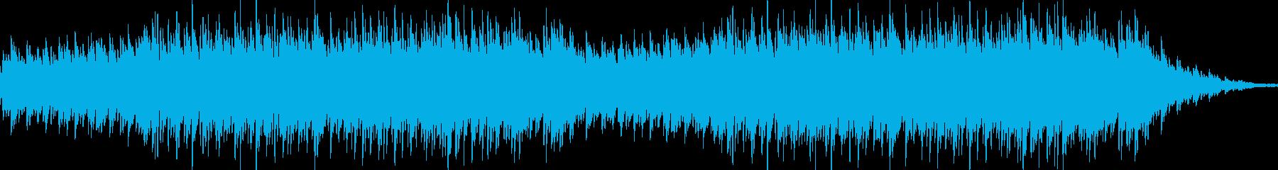神秘的で大人な雰囲気のメロディーの再生済みの波形