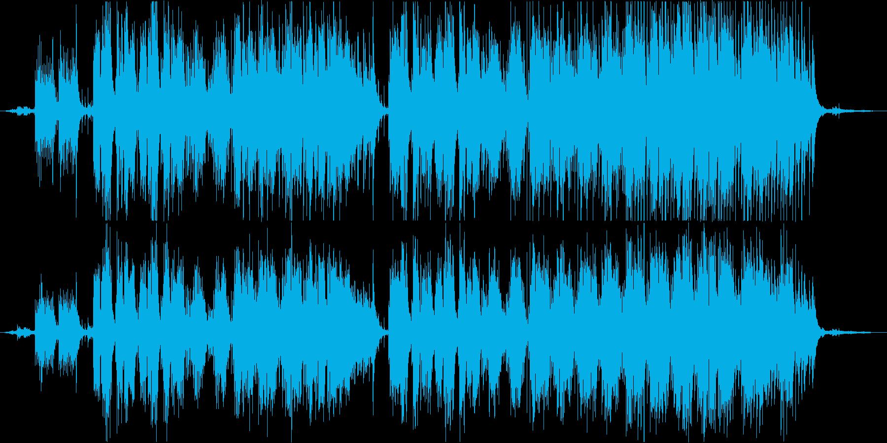 三月の再生済みの波形