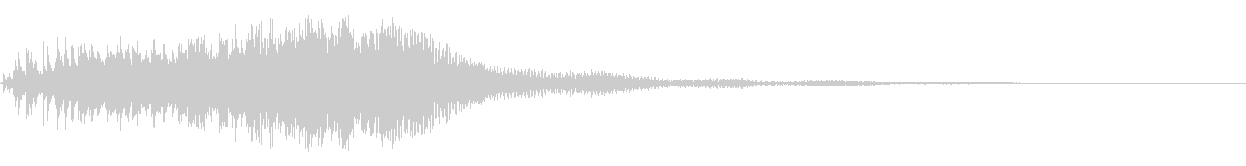 スピニングマジカルトリルの未再生の波形