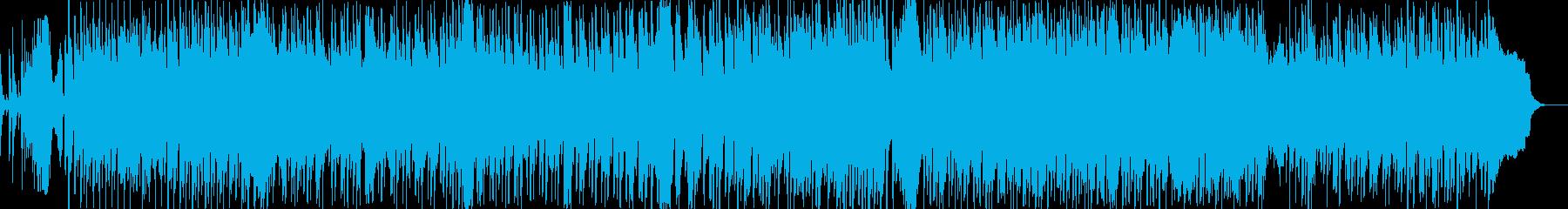 かわいい!明るく軽快なテクノポップ系の再生済みの波形