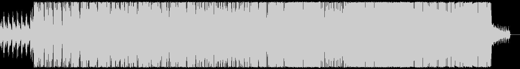 ファンキーなエレクトロの未再生の波形