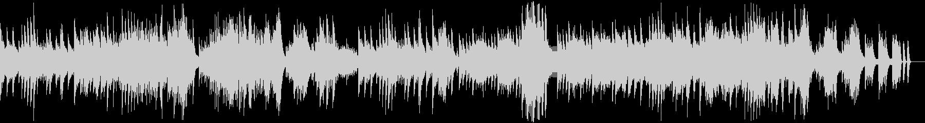 ピアノソナタ第8番「悲愴」第2楽章の未再生の波形
