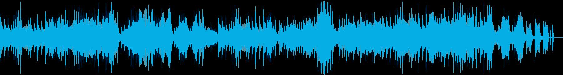 ピアノソナタ第8番「悲愴」第2楽章の再生済みの波形