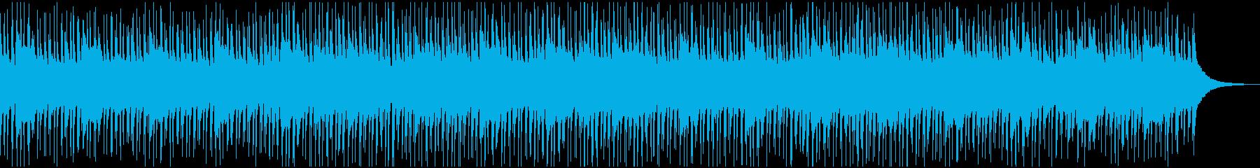 ほのぼの優しいウクレレBGMの再生済みの波形