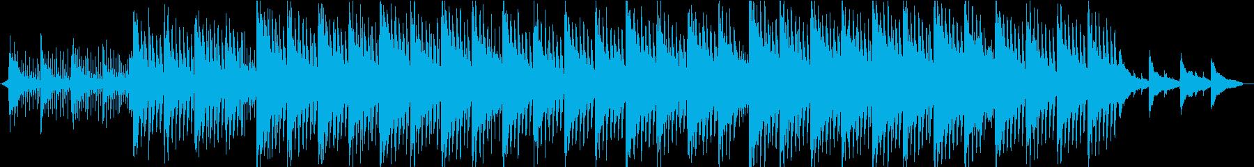 ピアノが美しい・綺麗な【コーポレート】の再生済みの波形