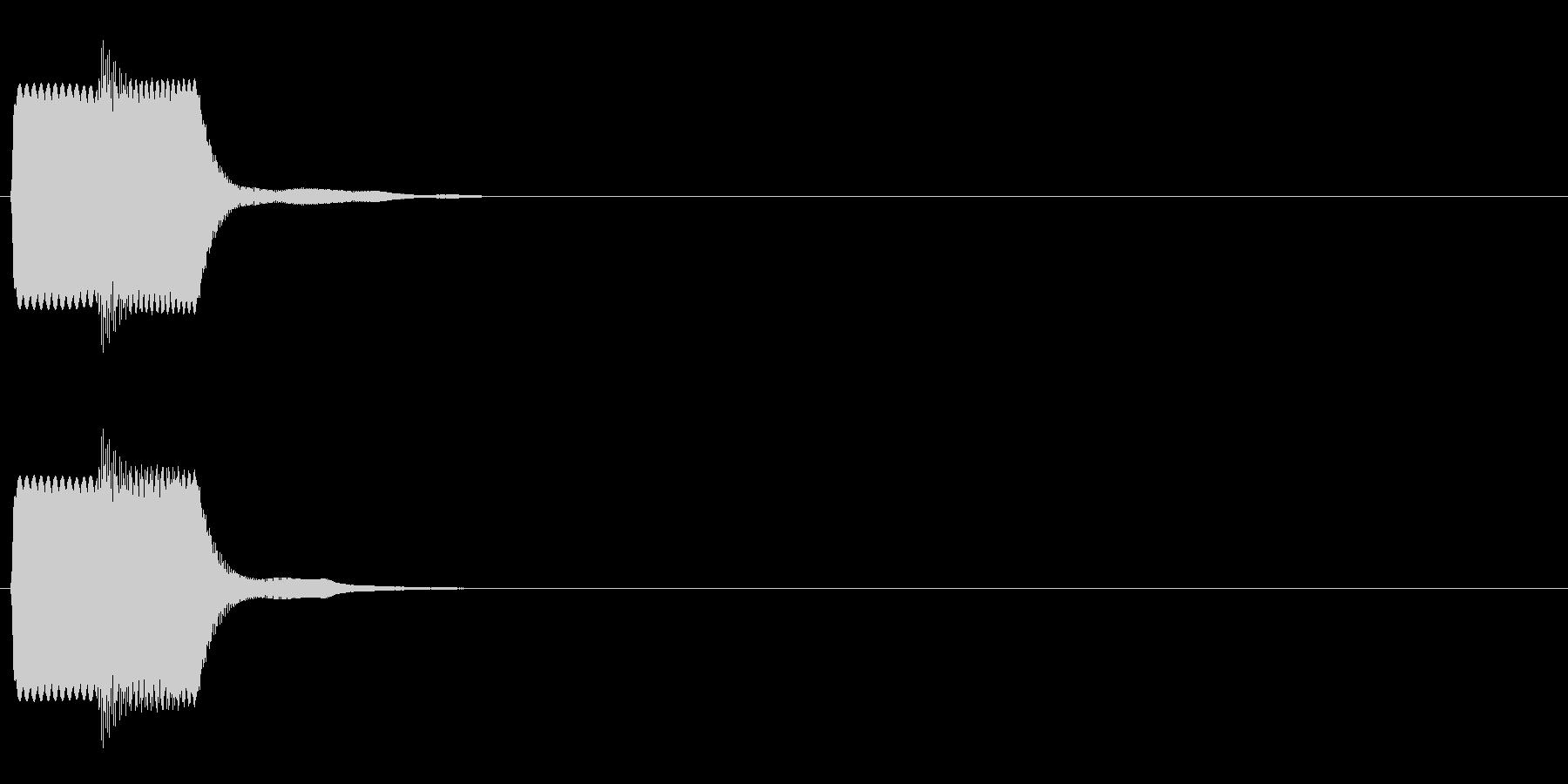 ピコン_鋸波(終了,停止,通知)_04の未再生の波形