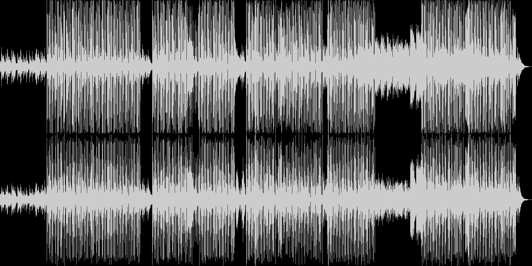 悲しげなピアノを中心としたTRAPの未再生の波形