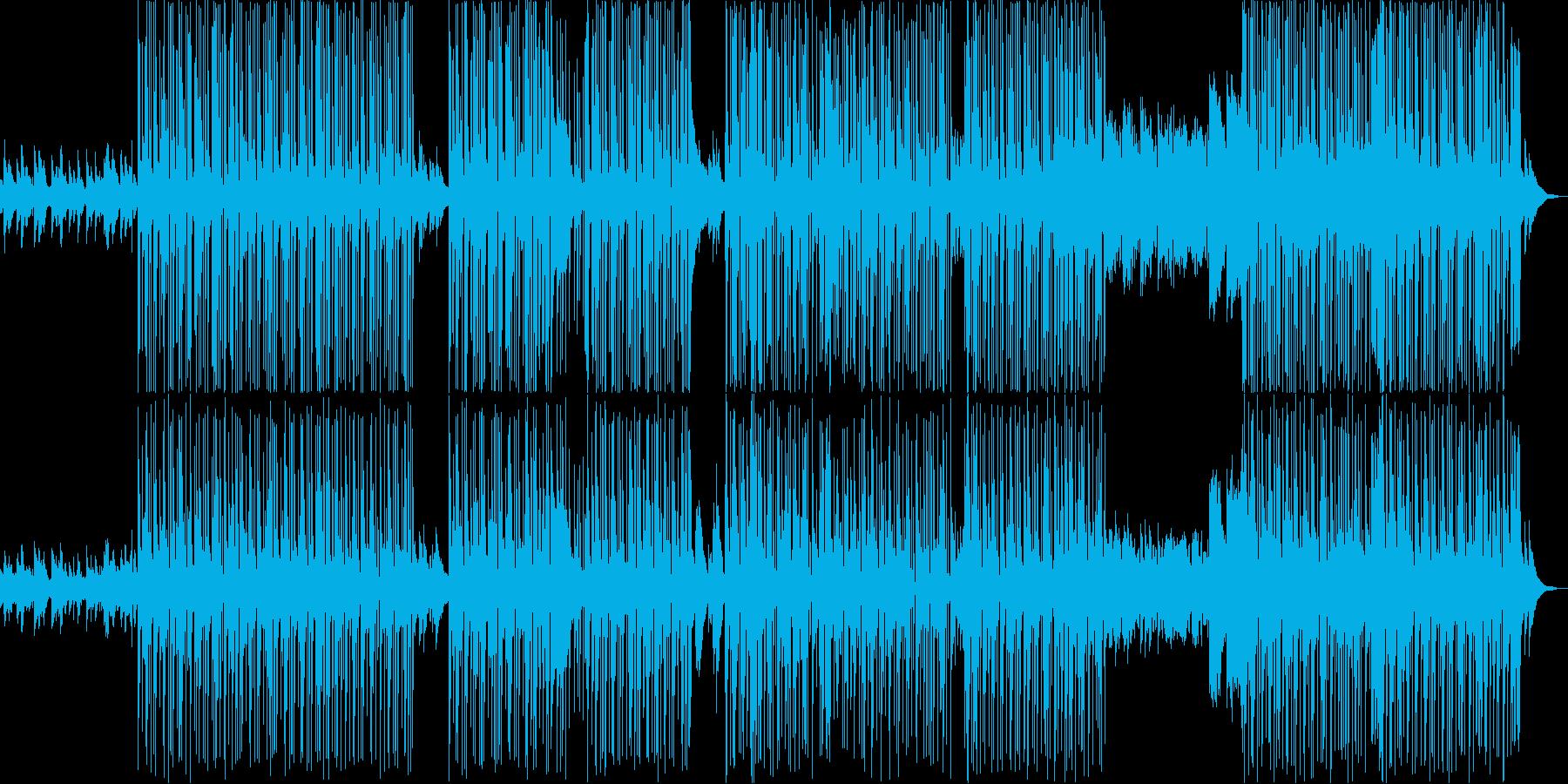 悲しげなピアノを中心としたTRAPの再生済みの波形