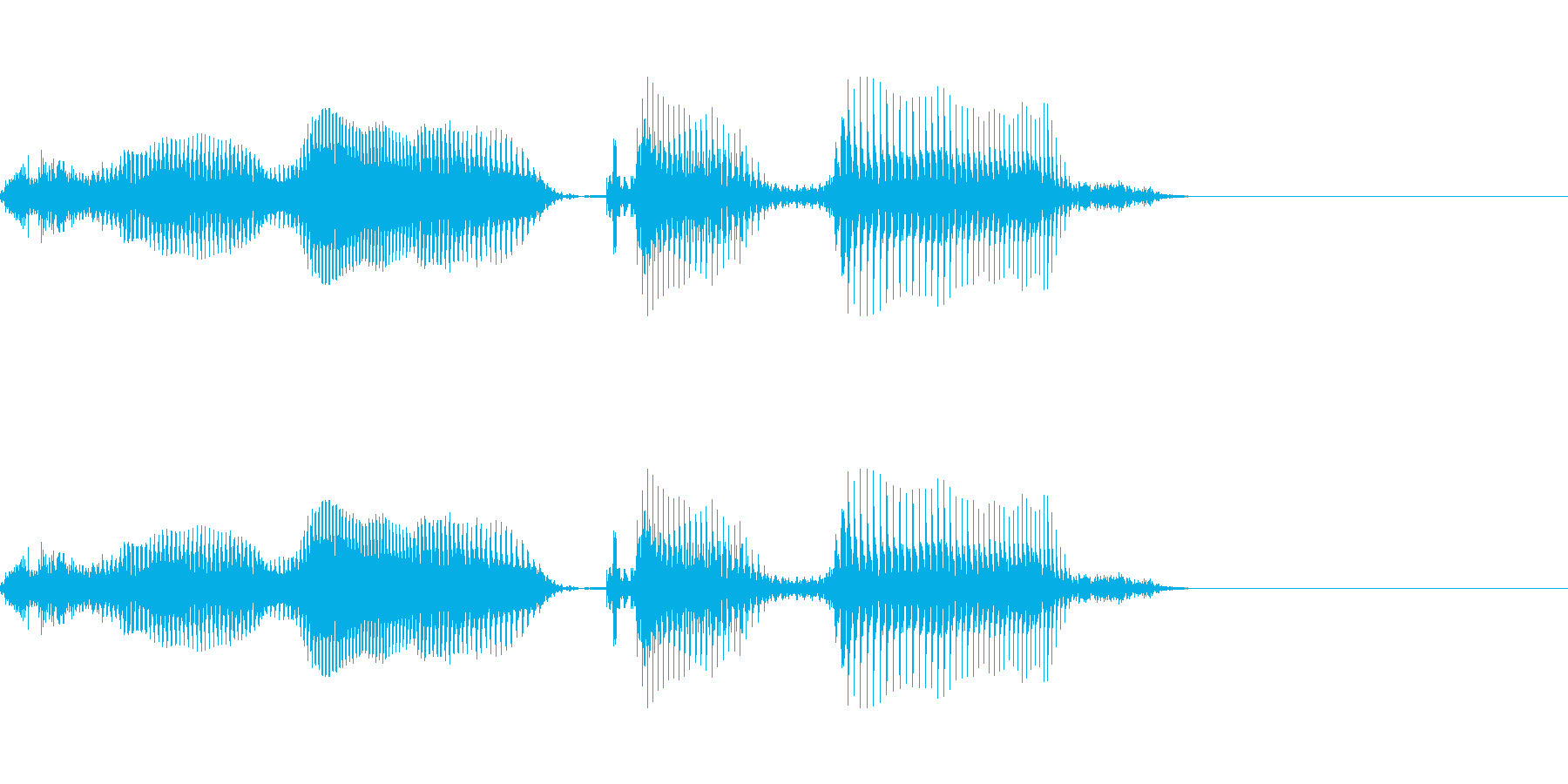 次いこうぜの再生済みの波形