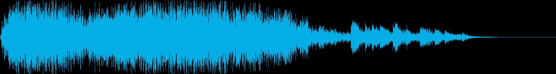 重い可燃性貯蔵ドラムの爆発の再生済みの波形