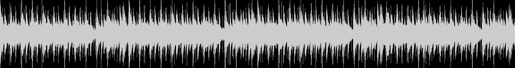 主張の少ないシンプルなブルースのループの未再生の波形