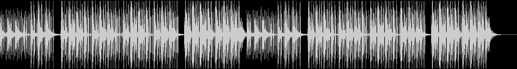 【チル】ゆったりとしたBGM・8の未再生の波形