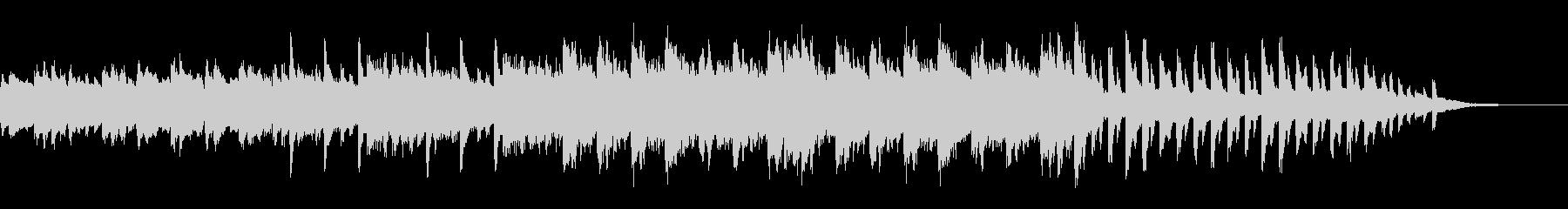 サイレントヒル風 悲しいピアノバラードの未再生の波形
