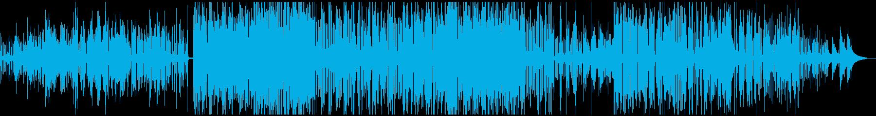 アシッドジャズ。即興トリオ。ピアノ...の再生済みの波形