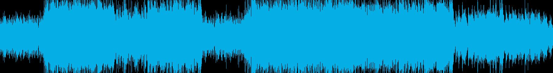 ピアノの旋律が特徴的なBGM:遺跡の再生済みの波形