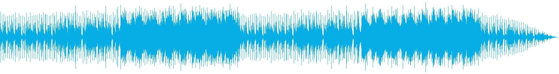 異国の妖しい占いの館の雰囲気の民族音楽の再生済みの波形