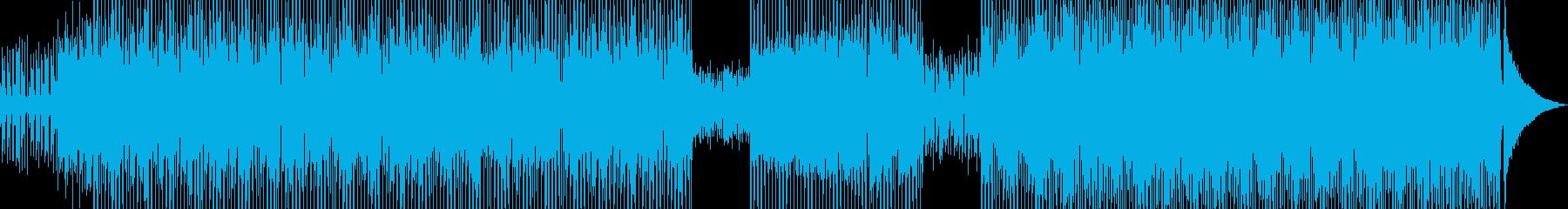 琴・和カフェをイメージしたテクノ B★の再生済みの波形