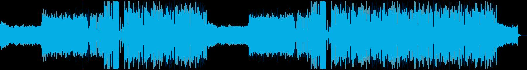 切ない・感動的・別れ EDMの再生済みの波形